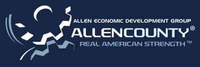 Allen county economic development logo