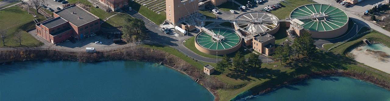 Lima's water treatment facility