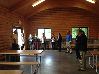 Visitor's Bureau, Chamber of Commerce and local hotel operators introduced to parks in Lima/Allen County.